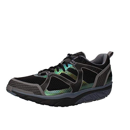 MBT Sneakers Men 8/8.5 US - 42 EU Grey / Black Textile