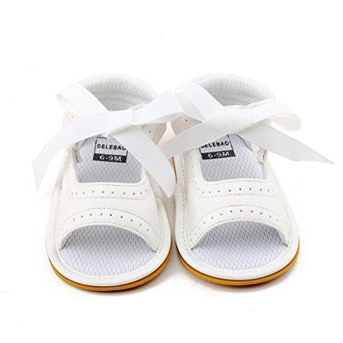 Igemy 1Paar Lässige Kinder Frühlingsblumen Mädchen Kinder Mode Sneakers Weiche Sandalen Schuhe Weiß