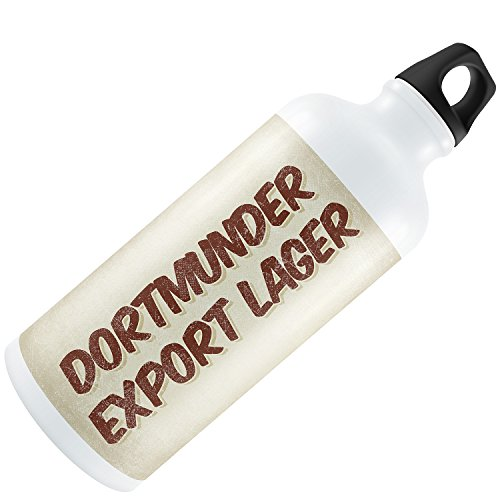 Water Bottle Dortmunder Export Lager Beer, Vintage style 20oz / 600ML