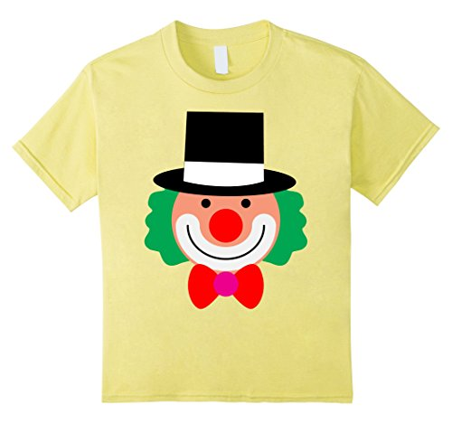 Father And Son Halloween Costumes Ideas (Kids Clown for Halloween and Thanksgiving costume ideas T-shirt 10 Lemon)