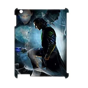 J-LV-F Thor Loki Pattern 3D Case for iPad 2,3,4