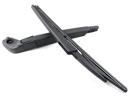 OTUAYAUTO For VOLVO V70 XC70 2004 2005 2006 2007 Rear Windshield Wiper Arm and Blade Kit OE:8662751 30753767