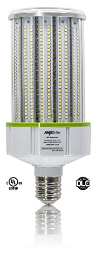 100W LED CORN LIGHT BULB 5000K Replaces 700W, 11,500 lumens Mogul Base E39, 100-277V AC UL/cUL DLC by MaxBrite