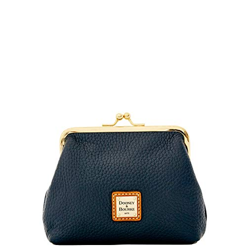 Purse Blue Midnight Dooney Large Pebble amp; Grain Bourke Framed Hqw48Y4Fx