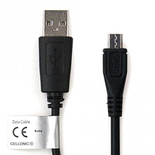 CELLONIC Datenkabel für ODYS Next / Ieos Quad / Xpress / Connect 7 Pro, 8+ / Space / Windesk X10 / Winkid 8 USB Kabel Ladekabel