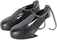 Ownsig Anti-Smashing Steel Toe Cap Anti-Slip Safety Access Protective Shoe Cover Wear-Resistant Hard Bottom