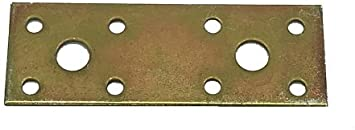 100 mm x 35 mm x 1,5 mm G 10 Holzverbinder verzinkt Flachverbinder