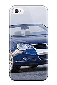Volkswagen Eos Durable Iphone 4/4s Tpu Flexible Soft Case
