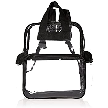Amazon.com: Clear Backpack with Smooth Plastic Completely