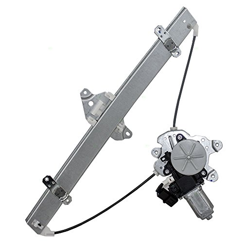 (Drivers Front Power Window Lift Regulator with Motor Assembly Replacement for Mitsubishi MN126737)
