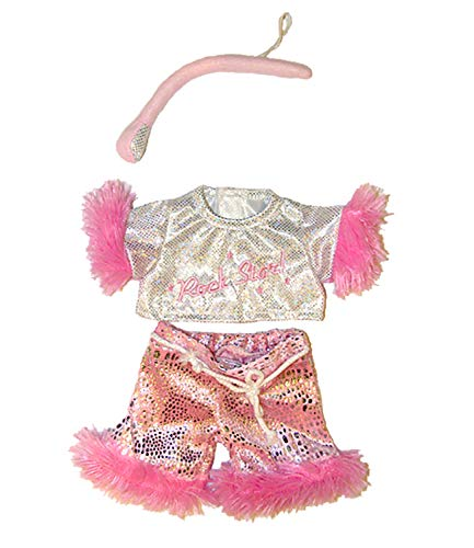 Girl Rock Star Outfit with Microphone Fits Most