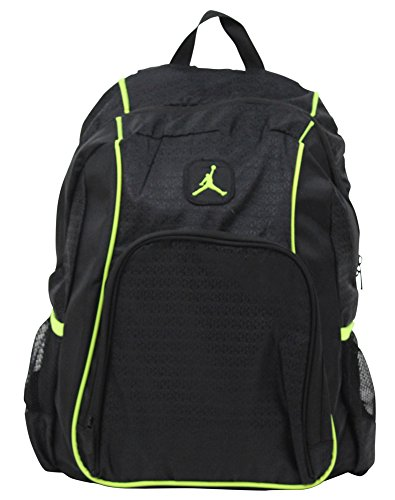 Jordan Air Nike Legacy Men's Tablet Laptop Backpack Bag Black (Nike Air Jordan Storage Box)