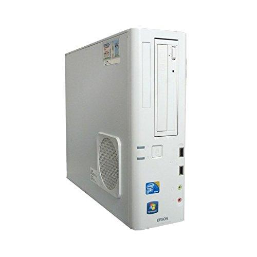 激安特価!中古パソコン 中古デスクトップパソコン(Windows 7 Pro) EPSON AT971 Celeron 430 1.8G/2G/160GB/DVD-ROM