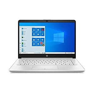 HP 14″ Ryzen 3 4GB/128GB Laptop-Silver