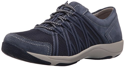 Dansko Vrouwen Eer Sneaker Blue Suede