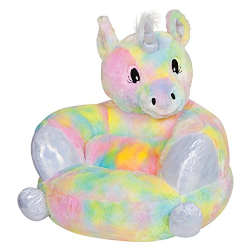 (Trend Lab Kids Plush Character Chair, Rainbow Unicorn)