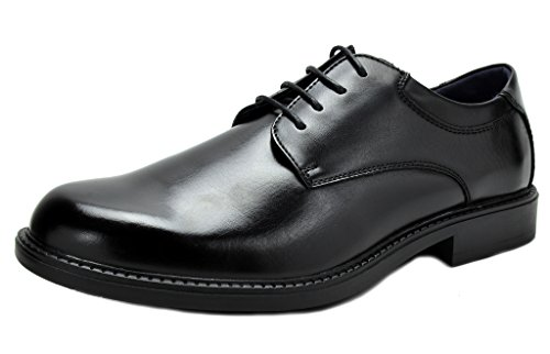 Bruno MARC DOWNING-02 New Men's Classic Modern Lace Up Leather Lined Formal Dress Oxfords Shoes