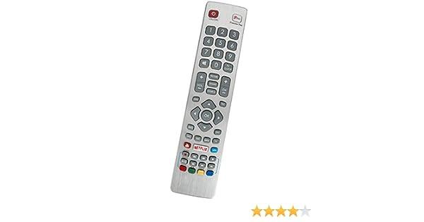 ALLIMITY SHW-RMC-0121 Reemplace el Control Remoto por Sharp Aquos Smart TV LC-40FG5151KF LC-49CFG6002KF LC-40FG5152KF LC-43CFG6001KF LC-40CFG6001KF LC-40FG5142KF: Amazon.es: Electrónica