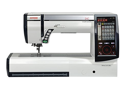 Janome Horizon Memory Craft 12000 Embroidery and Sewing - Craft Sewing Machines Memory