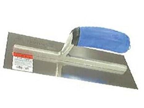Llana de acero inoxidable, con empuñadura suave, 305 x 120 ...