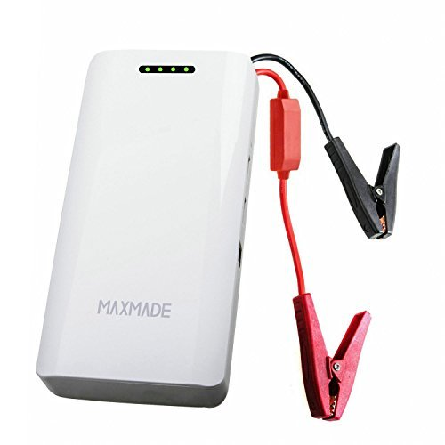 Fantastic Deal! MAXMADE Upgraded Version Car Jump Starter Upgraded with Safer Circuit Protection and...