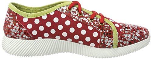 Laura Vita Damen Delphine 11 Sneaker Rot (Rouge)