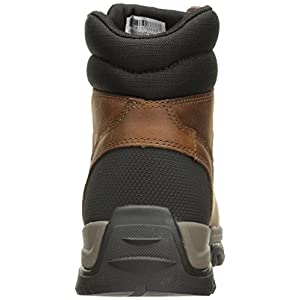 Carhartt Men's Ground Force 6-inch Brown Waterproof Work Boot - Soft Toe, Peanut Oil Tan Leather, 8.5 M US - New for 2017 - CME6055