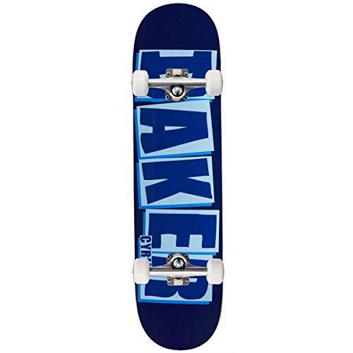 """Baker Cyril Brand Name Skateboard Complete - Blue - 8.00"""""""