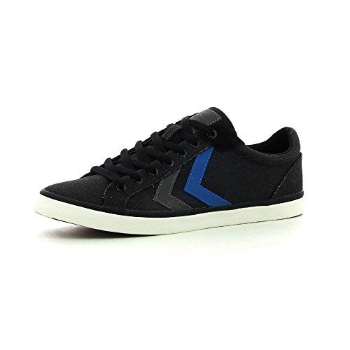 Hummel Deuce Court Waxed Canvas, Unisex-Erwachsene Sneakers schwarz