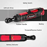 """Cordless Electric Ratchet Wrench, 3/8"""" 50N.m"""