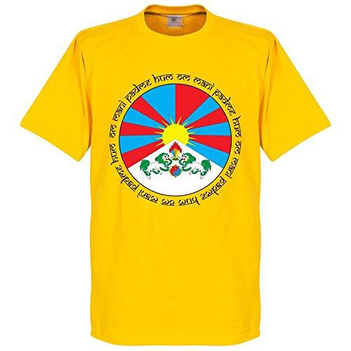 Tibet Crest T-shirt - gelb