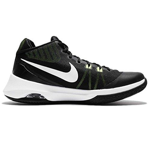 Nike Mens Lucht Versitile Basketbalschoen Wit-zwart-groen