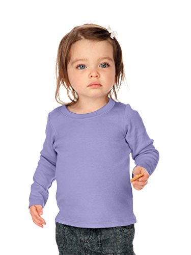 (Kavio! Unisex Infants Baby Doll Long Sleeve Top Lavender 24M)