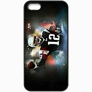 Personalized Diy For SamSung Galaxy S4 Case Cover ell phone Case/Cover Skin 1518 new england patriots Black