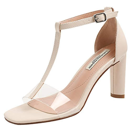 With Sandals Transparent AGECC High Of High paint Apricot Heels Heels pAEd5dxqw