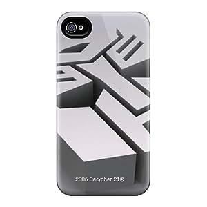 Great Hard Phone Cases For Iphone 6plus With Unique Design Vivid Autobots Logo Pattern LavernaCooney