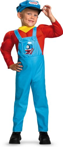 Thomas Muscle Costumes Tank The (Thomas Classic Muscle Toddler Costume - Toddler)