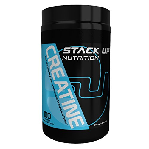 Stack Up Essentials, Creatine Powder, 500 Grams, 100 Servings