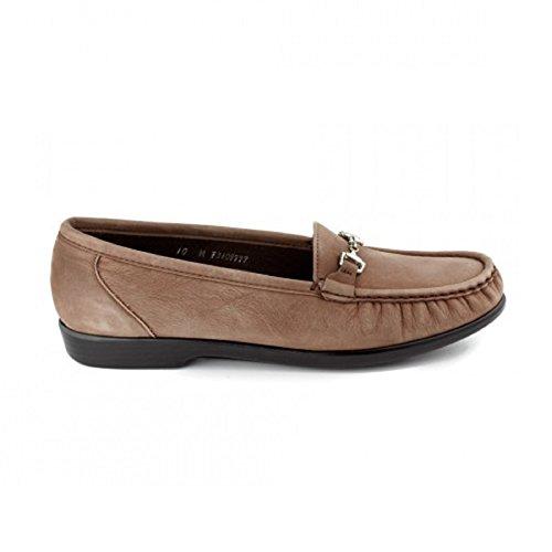 Zapatillas Mujer Sas Metro Slip-on Truffle Nubuck (10 M)