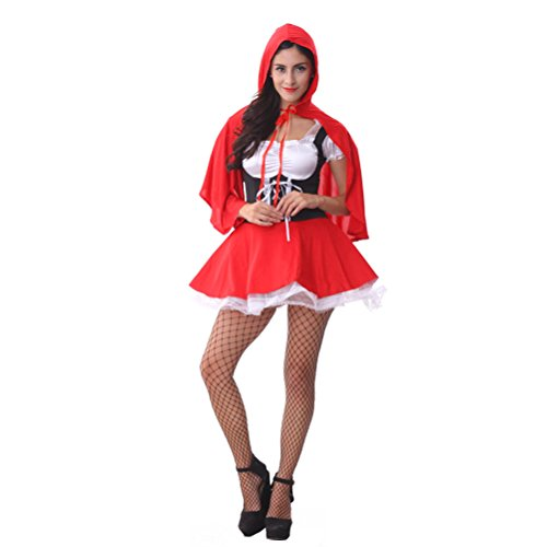Tween Little Red Riding Hood Costume (FairyTale Miss Little Red Riding Hood Hoodwinked Tween Fancy Dress Costume)