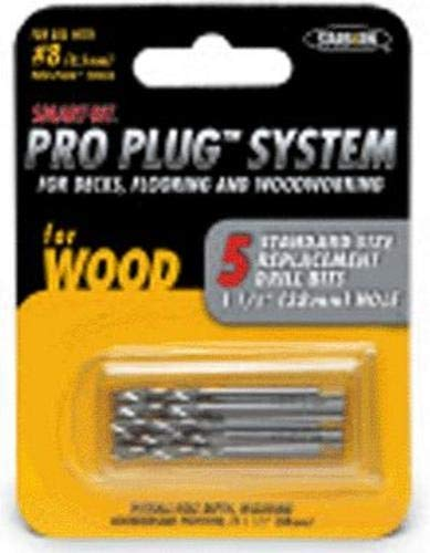 - Pro Plug #8 Replacement Bits For Use with Pro Plug System Tool - 5 Pack of Bits Bda261c