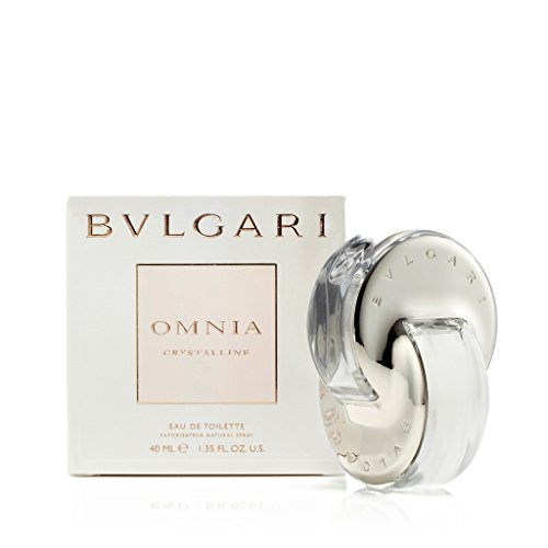 Bvlgari Women's Omnia Crystalline Eau De Toilette Spray,Silver,1.33 - Silver Bvlgari
