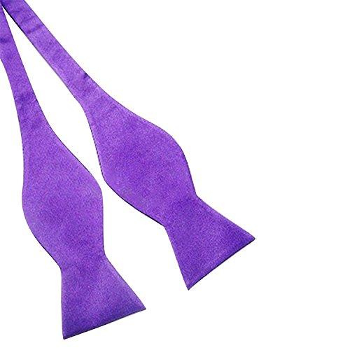 Self Neckties Tie Tie 25 Mens Style Silk Wedding Bodhi2000® Bow Solid BxXS8n