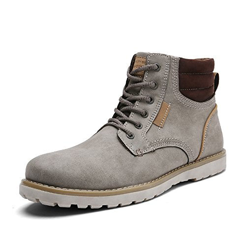 Quicksilk Men's Waterproof Hiking Boot (11 D(M) US, Light Gray)