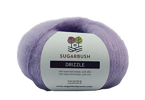 Sugar Bush Yarn Drizzle Fine Weight, Peach Sprinkle