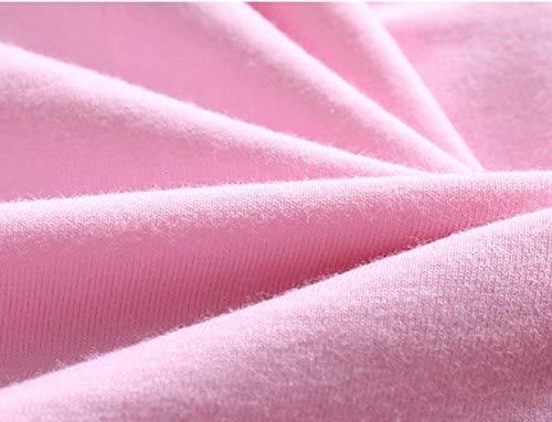 Otoño Vestido Sólido Mangas Pijama Elegantes Anchas De Color Cuello Pink Primavera Mujer Dormir Con 3 Redondo Cortos 4 Volantes Camisones Camisón Moda Informales HfYXwfpq