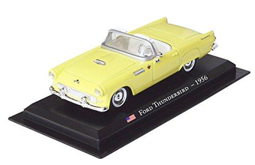Ford Thunderbird - 1956 diecast 1:43 model (Amercom (Ford Thunderbird Diecast Model)