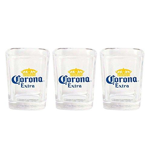 - Corona Extra Three Pack Square Shooters