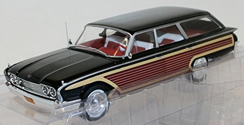 Ltd Ford Squire Country (MODELCARGROUP MCG18073 FORD COUNTRY SQUIRE 1960 WOODEN/BLACK 1:18 DIE CAST MODEL)
