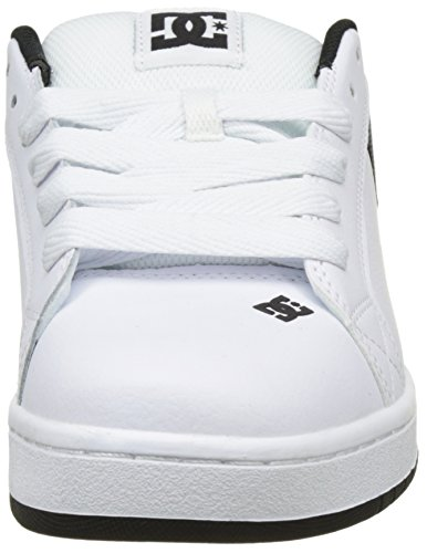 Smooth S Court Graffik Uomo Shoes DC White Basse Bianco HOxa8q5wt